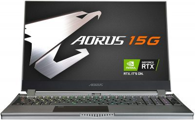 Gigabyte AORUS 15G KB-8US2130MH (15.6 Inch FHD 240Hz/10th Gen Intel Core i7 10875H/Nvidia RTX 2060 6GB Graphics/16GB RAM/512GB SSD/Windows 10)