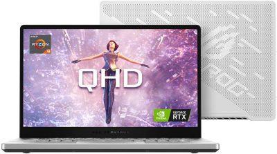 Asus ROG Zephyrus G14 GA401IV-HA120T (14 Inch 60Hz (2560×1440) QHD/AMD Ryzen 9 4900HS/16GB RAM/1TB SSD/Windows 10/Nvidia RTX 2060 6GB Max-Q Graphics) UK