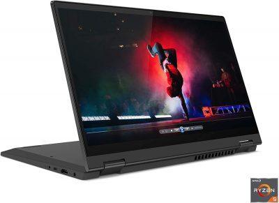 Lenovo Flex 5 2-in-1 81X20001US (14 Inch 60Hz FHD Touchscreen/AMD Ryzen 7 4700U/16GB RAM/512 GB SSD/Windows 10/AMD Vega 7 Graphics) USA