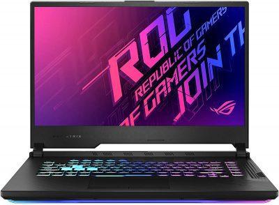 Asus ROG Strix G15 G512LW-WS74 (15.6 Inch 144Hz FHD/10th Gen Intel Core i7 10750H/Nvidia RTX 2070 8GB Graphics/16GB RAM/512GB SSD/Windows 10 Home)