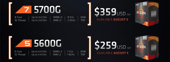 AMD Ryzen 5 5600GAMD Ryzen 5 5600G