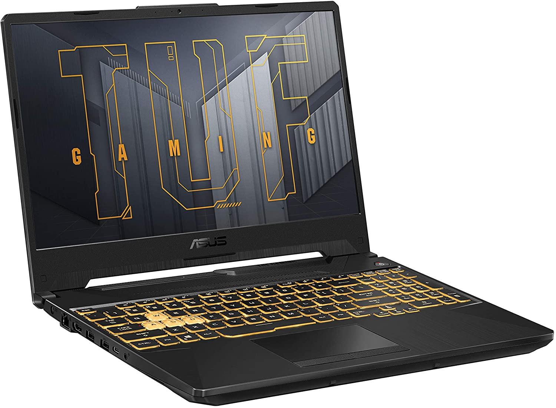 Asus Tuf Gaming TUF506QM-ES74 (15.6 Inch 144Hz FHD/AMD Ryzen 7 5800H/Nvidia RTX 3060 6GB Graphics/16GB RAM/512GB SSD/Windows 10 Home)
