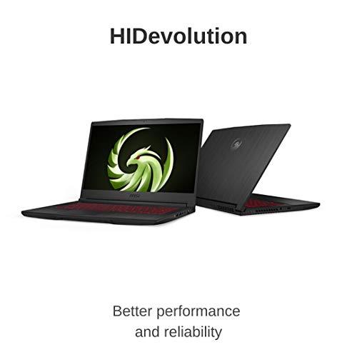 MSI Bravo 15 A4DDR 15022-HID5 (15.6 Inch 120Hz FHD/AMD Ryzen 5 4600H/AMD Radeon RX 5500M 4GB Graphics/16GB RAM/512GB SSD/Windows 10)