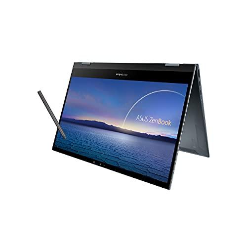 ASUS ZenBook Flip 13 2in1 UX363EA-HP502TS (13.3 Inch FHD 60Hz Touchscreen/11th Gen Intel Core i5 1135G7/8GB RAM/512GB SSD/Windows 10/Intel Iris Xe Graphics G7)